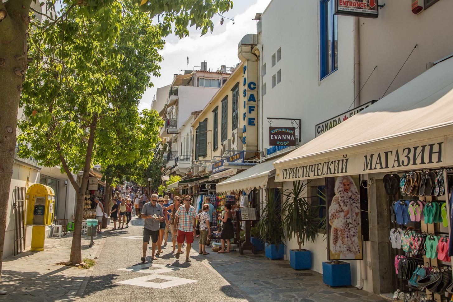 winkelen in Agios Nikolaos