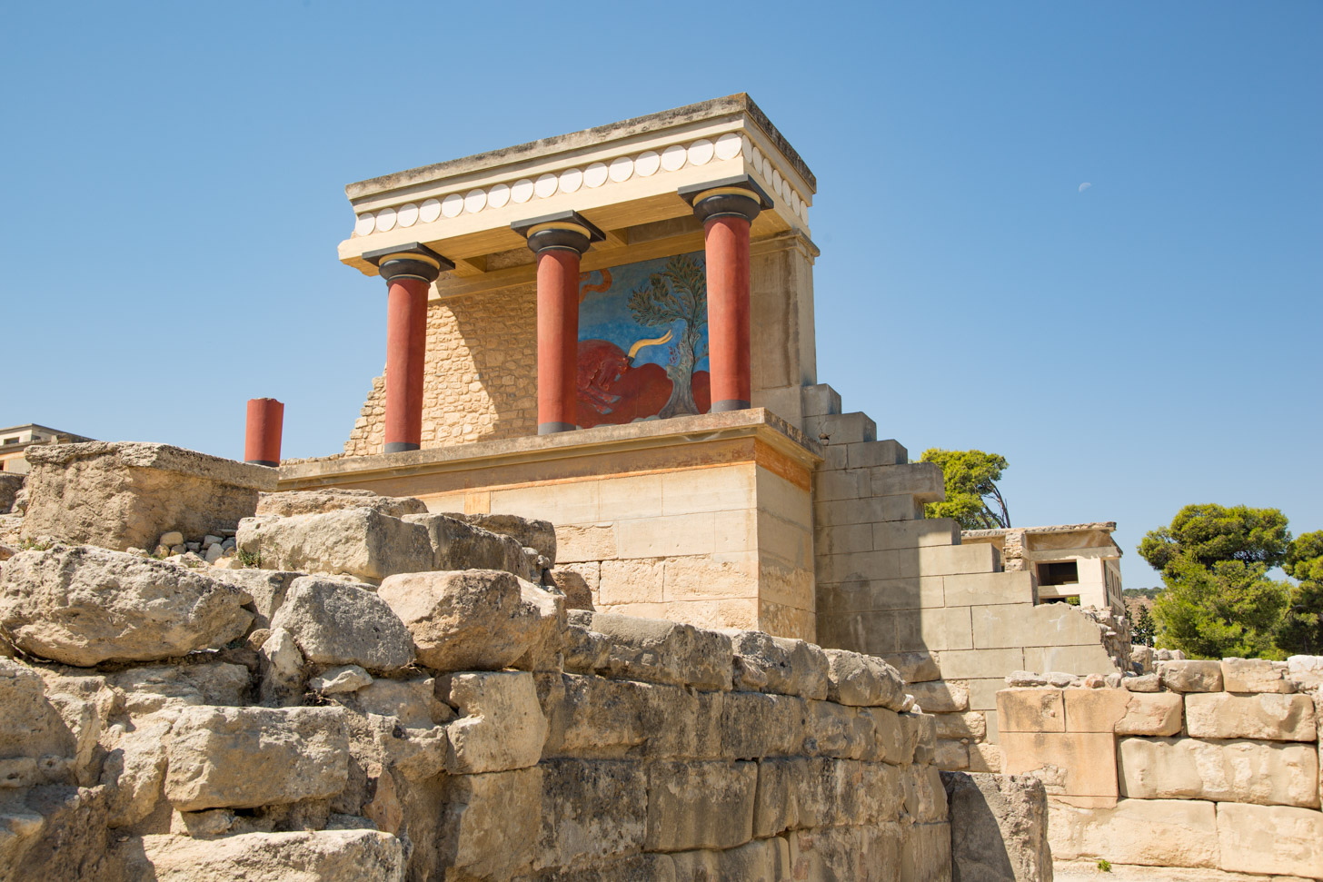 Archeologische vindplaats Knossos