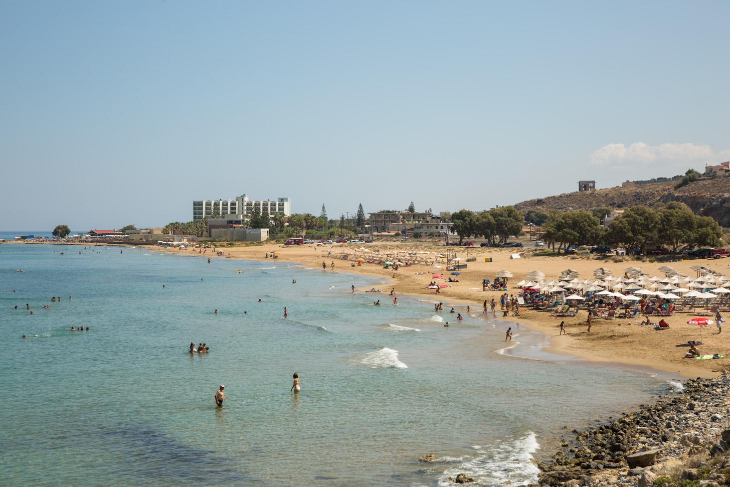strand van Kokkini Hani