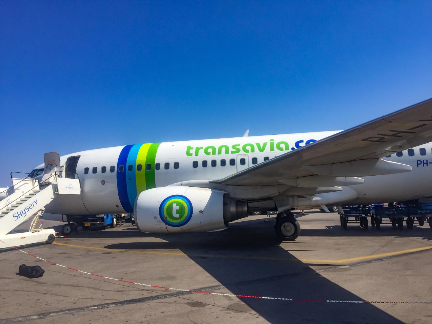 Met Transavia naar Kreta vliegen