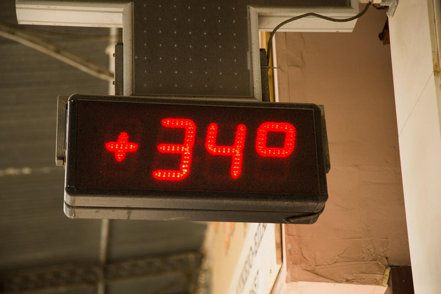 Warme zomermaanden op Kreta: 34 graden in de middag is geen uitzondering